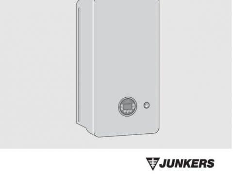 Junkers Bosch Cerapur 2200 - Instrukcja montażu i konserwacji - A