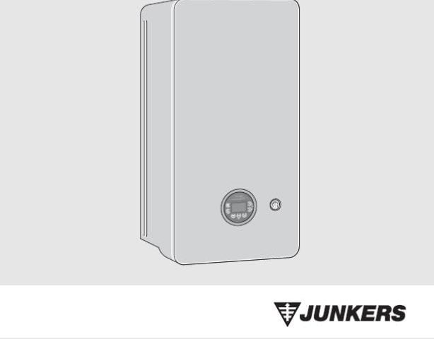 Junkers Bosch Cerapur 2200 - Instrukcja obsługi A