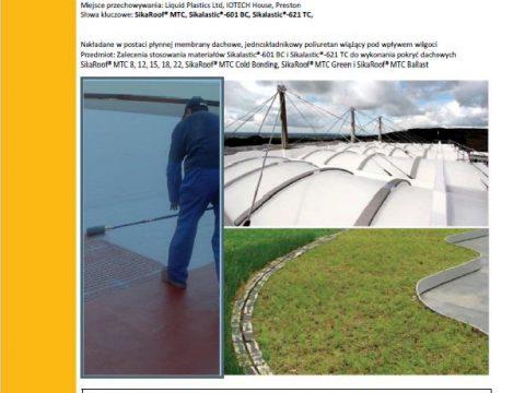 Sika - Dachy z membrany płynnej