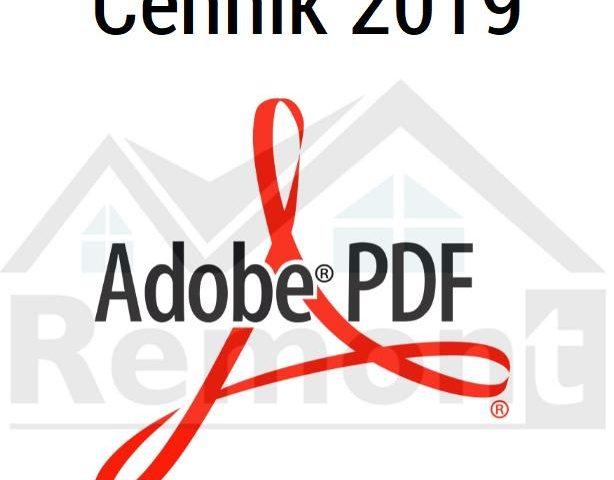 De Dietrich Cennik 2019