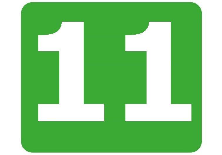 11 - zielona