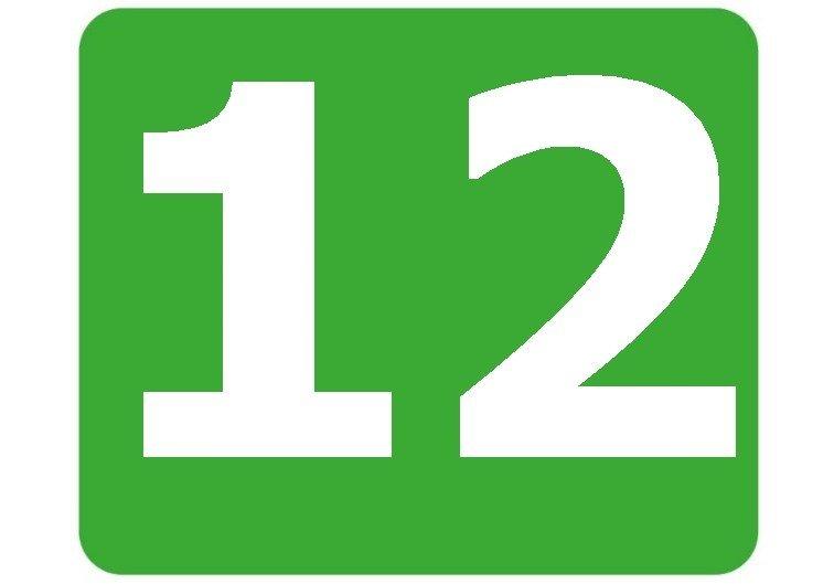 12 - zielona