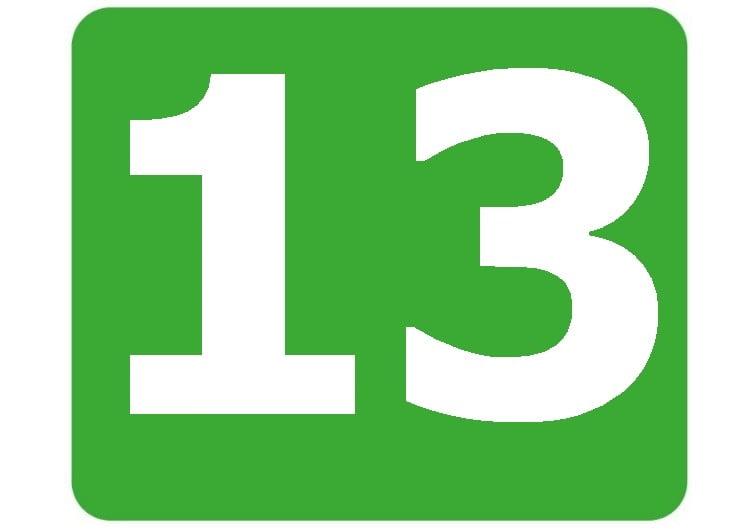 13 - zielona