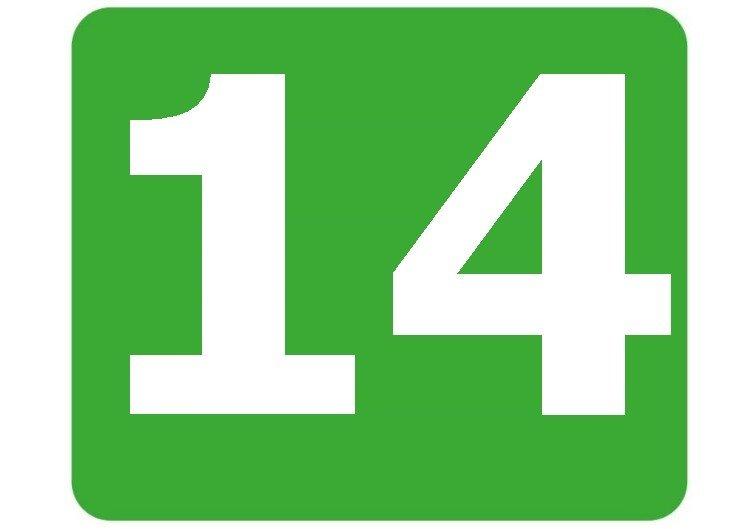 14 - zielona
