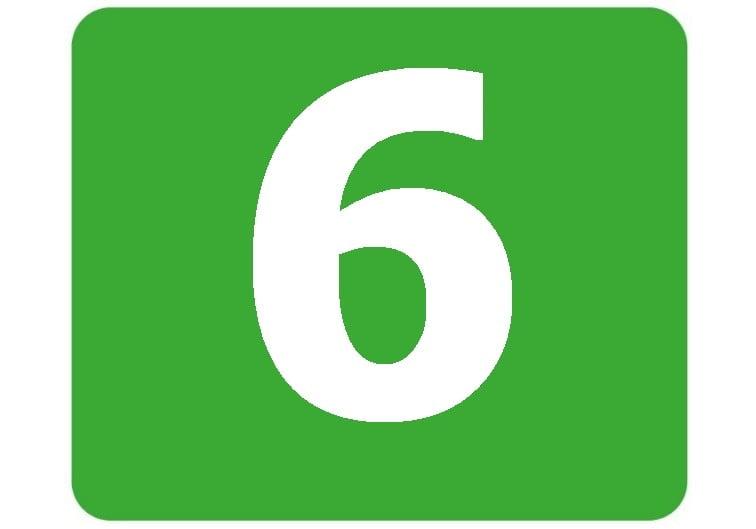 6 - zielona