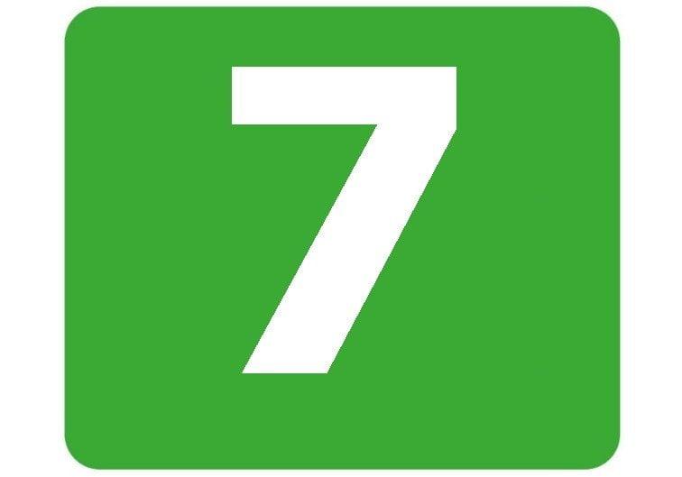 7 - zielona
