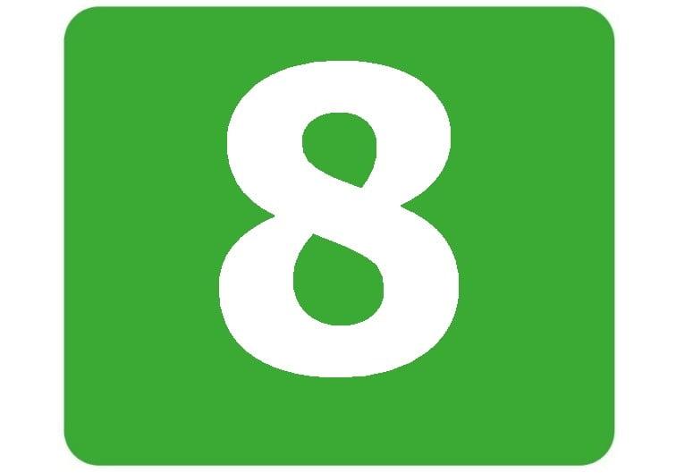 8 - zielona