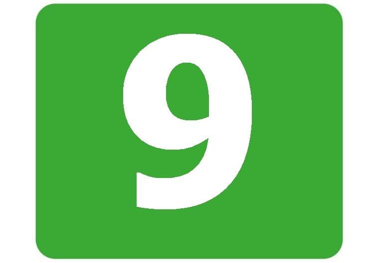 9 - zielona