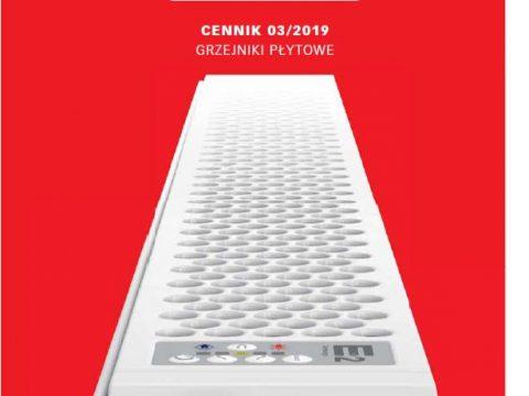 Grzejniki płytowe Cosmo cennik 2019