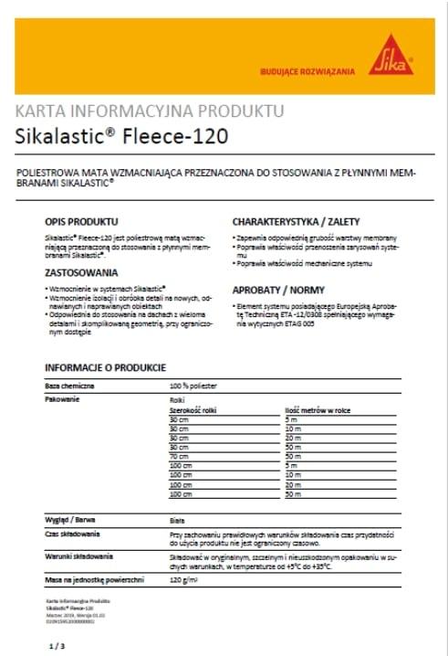 Sikalastic-Fleece-120-A1 NK