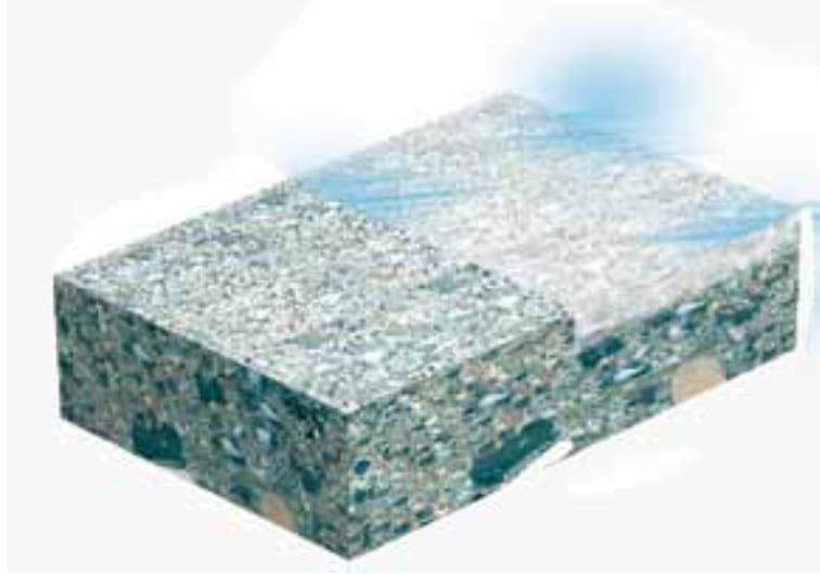 Powierzchniowe utwardzenie betonu