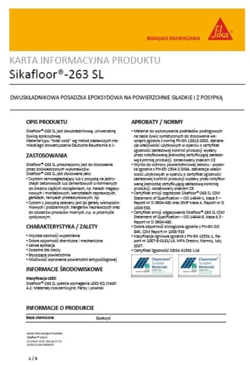 Sikafloor-263-SL-2 NK