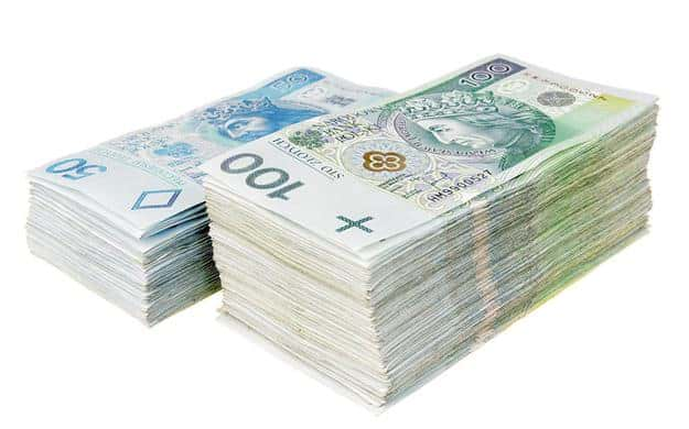 pieniądze NK