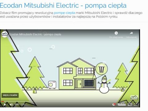 Film Ecodan Mitsubishi Electric - pompa ciepła