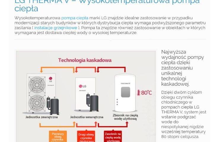 LG THERMA V – Wysokotemperaturowa pompa ciepła