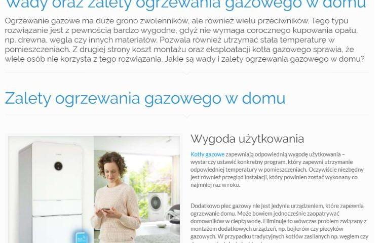 Wady oraz zalety ogrzewania gazowego w domu