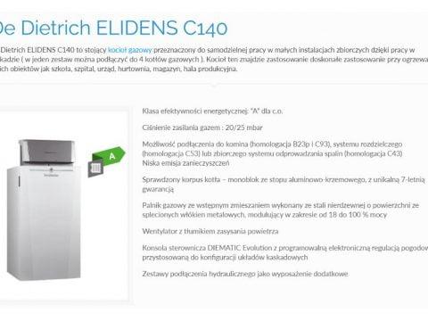 Di Dietrich ELIDENS C140