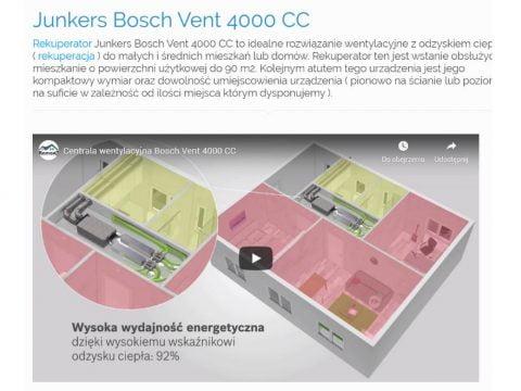 Junkers Bosch Vent 4000 CC