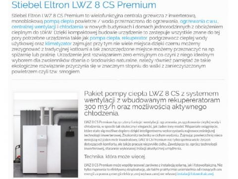 Stiebel Eltron LWZ 8 CS Premium