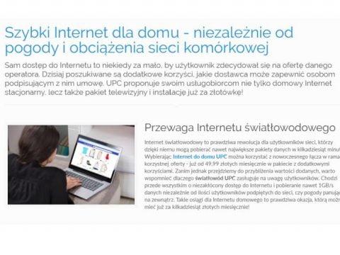 Szybki Internet dla domu - niezależnie od pogody i obciążenia sieci komórkowej