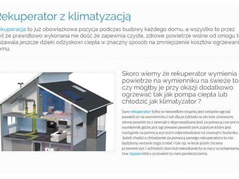 Rekuperator z klimatyzacją