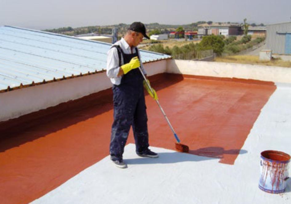 Płynna membrana dachowa - system płynnych hydroizolacji weber.dry PUR System - K3
