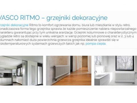 VASCO RITMO – grzejniki dekoracyjne - K1