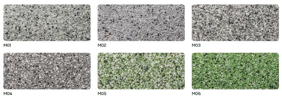 weber.dry balkon mosaic - system balkonowy z barwionym piaskiem kwarcowym tzw. kamienny dywan -K1