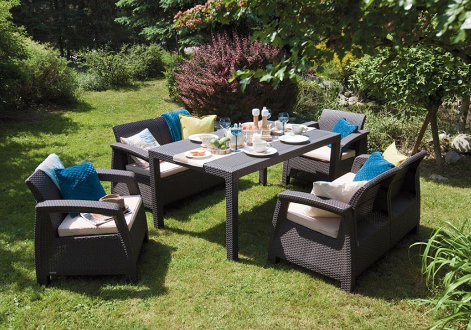 Dlaczego warto wybrać meble do ogrodu z tworzyw sztucznych - K2