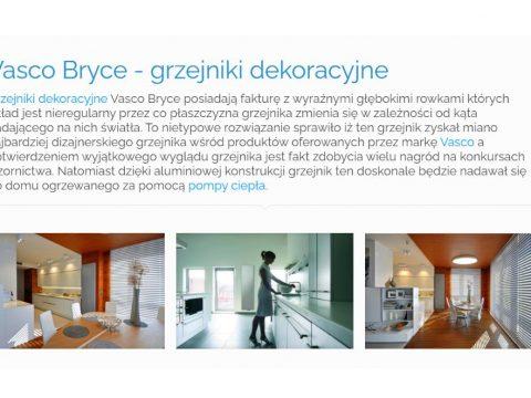 Vasco Bryce - grzejniki dekoracyjne - K1
