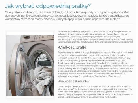 Jak wybrać odpowiednią pralkę - K1