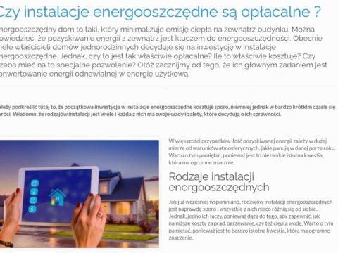 Czy instalacje energooszczędne są opłacalne - K1