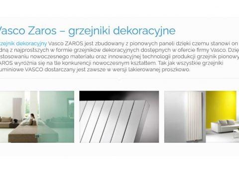 Katalog cennik Vasco ZAROS - K1