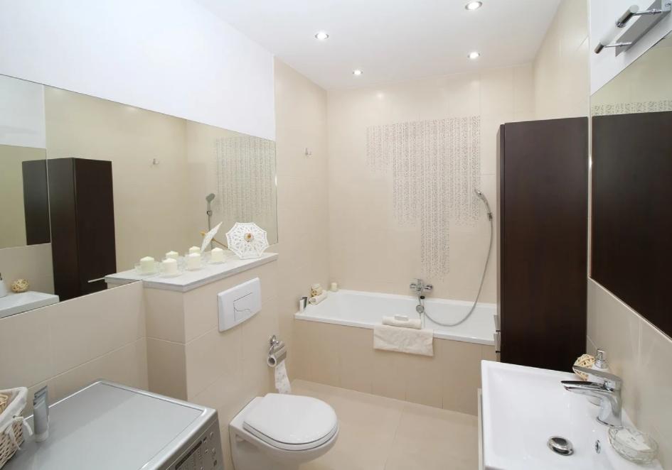 Małe łazienki aranżacje - K2