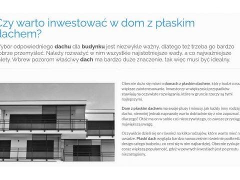 Czy warto inwestować w dom z płaskim dachem