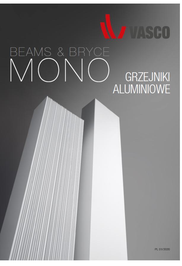 Vasco Mono - BEAMS BRYCE - katalog cennik - K1