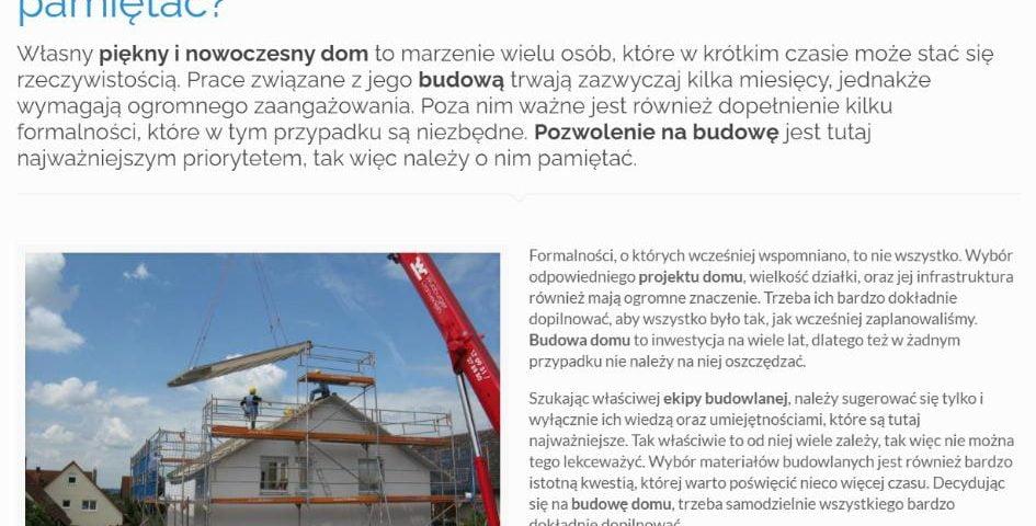 Budowa domu od podstaw - o czym należy pamiętać