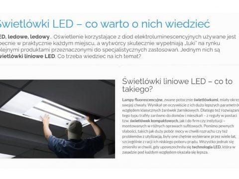 Świetlówki LED – co warto o nich wiedzieć