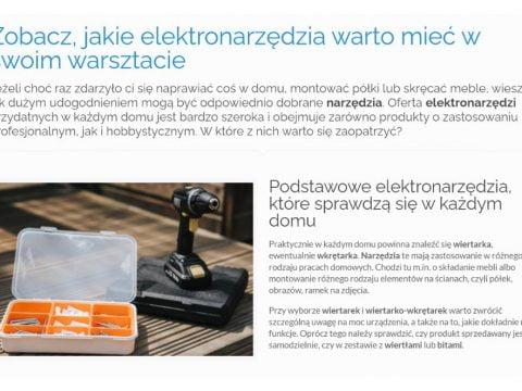 Zobacz, jakie elektronarzędzia warto mieć w swoim warsztacie