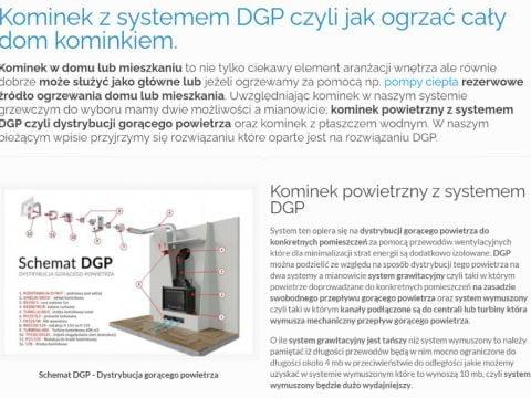 Kominek z systemem DGP czyli jak ogrzać cały dom kominkiem