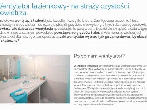 Wentylator łazienkowy- na straży czystości powietrza