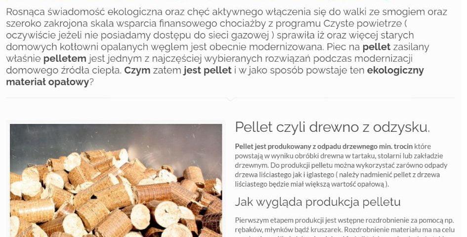Pellet – czym jest, z czego jest zrobiony oraz w jaki sposób powstaje ten materiał opałowy