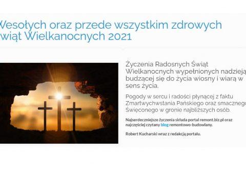 Wesołych oraz przede wszystkim zdrowych świąt Wielkanocnych 2020