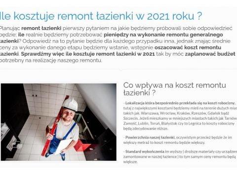 Ile kosztuje remont łazienki w 2021 roku