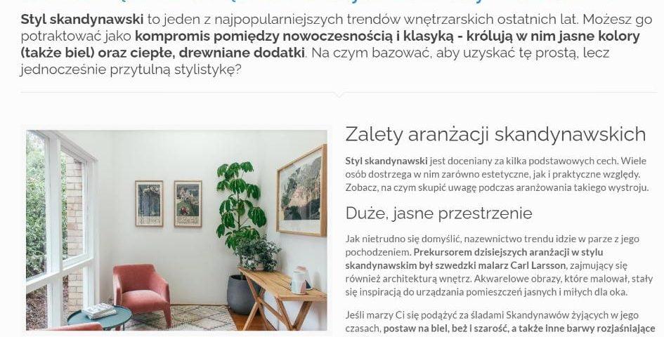 Jak urządzić wnętrze w stylu skandynawskim