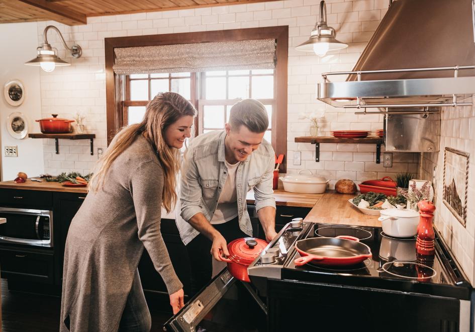 Inteligentne liczniki do 2028 roku w gospodarstwach domowych - dom, mieszkanie, kuchnia