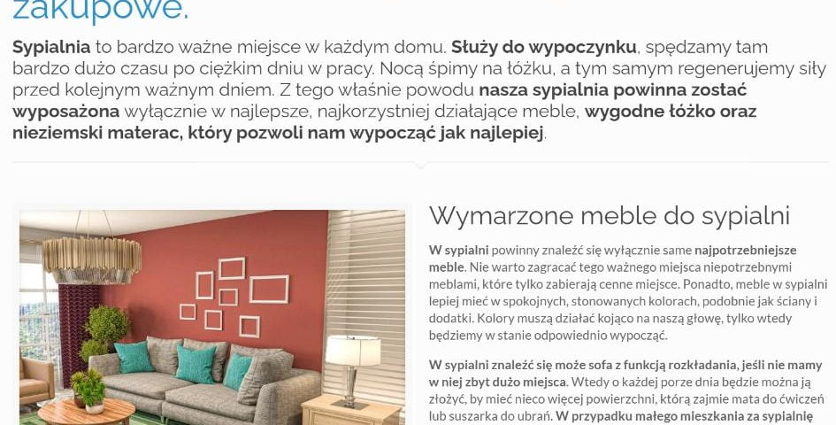 Meble i materace do sypialni - wyjątkowe oferty zakupowe