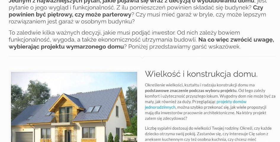 Jak wybrać idealny projekt domu