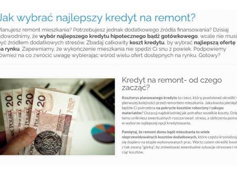 Jak wybrać najlepszy kredyt na remont