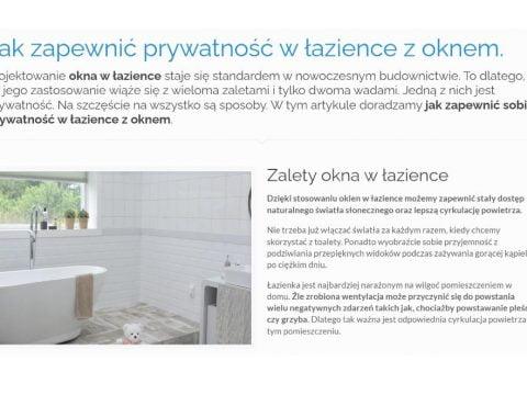 Jak zapewnić prywatność w łazience z oknem